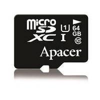 Карта памяти microSDXC 64GB Apacer UHS-1(class10)+SD