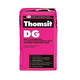 Самовыравнивающаяся гипсово-цементная смесь Томзит ДГ (Thomsit DG) 3-30 мм (25 кг)