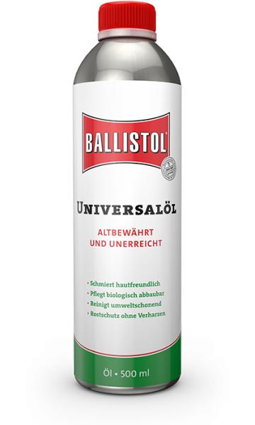 Масло для чистки оружия Ballistol 500 жидкость (500 мл)
