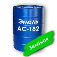 Эмаль АС-182 зеленая повышенной атмосферостойкости