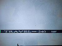 Спиннинг ZHIBO TRAVEL 2.4м тест 5-20