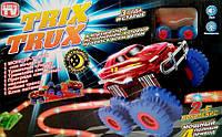 Набор Trix Trux машинка Трикс Тракс светящаяся дорога машинка монстр траки вездеход авто трек