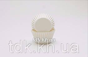 Паперова форма для цукерок біла 3b, O30 бортик – 24 мм 2000 шт