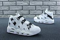 Чоловічі кросівки Nike Air More Uptempo x Off-White. Шкіра. [Розміри в наявності: 41,45], фото 1