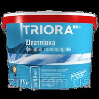 Шпаклівка фінішна тонкошарова TRIORA NEW
