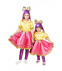 Детский карнавальный костюм КУКОЛКА ЛОЛ LOL для девочки 3,4,5,6,7,8,9 КУКЛА ЛОЛ