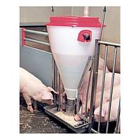 Кормушки для свиней на откорме, кормовые автоматы