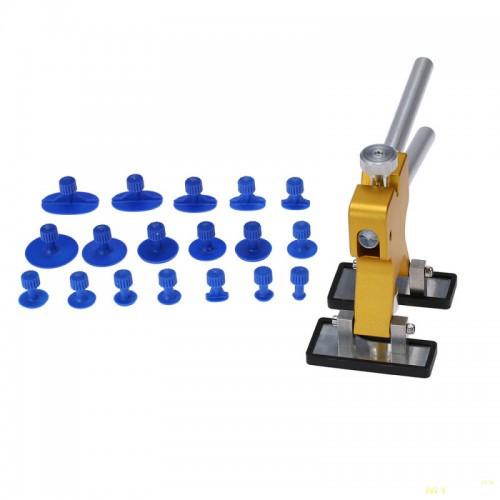 Набір інструментів для витяжки вм'ятин на кузові минилифтер Furuix