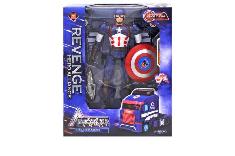 """Трансформер """"Captain America"""""""