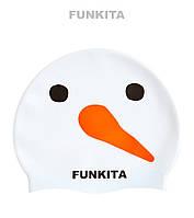 Силиконовая шапочка для плавания Funkita Snowy