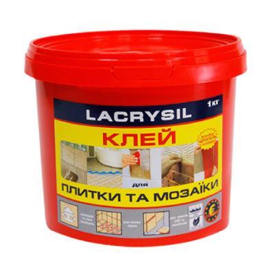 Клей для плитки і мозаїки Lacrysil (1 кг)