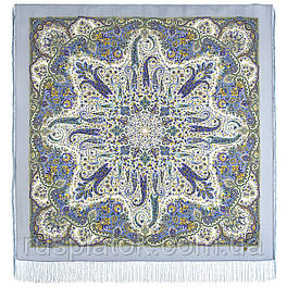 Родзинка 1811-1, павлопосадский вовняну хустку з шовковою бахромою