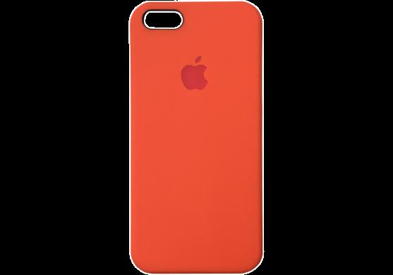 Чехол iPhone 5 / 5s / SE Silicone Case OEM (Оранжевый 13)