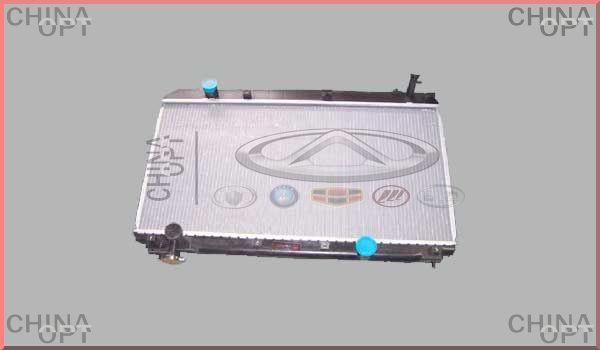 Радиатор охлаждения, 481, 481FD, Chery Tiggo [1.6, до 2012г.], T11-1301110BA, Aftermarket