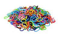 Резинки Rainbow Loom Band для плетения браслетов 300 шт