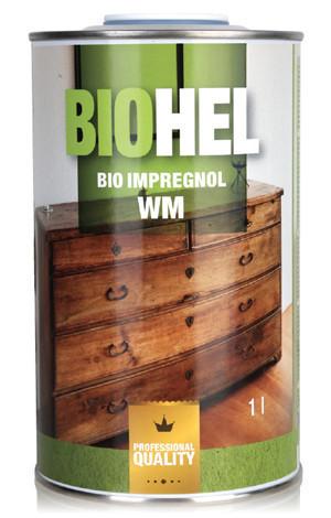 Масло-воск для защиты деревянных изделий BIOHEL IMPREGNOL WM (Хелиос) 1 л. Сосна