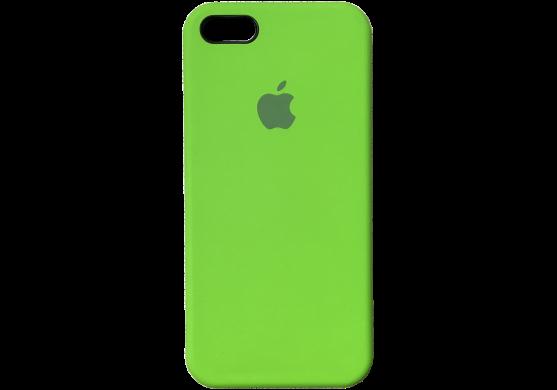 Чехол iPhone 5 / 5s / SE Silicone Case OEM ( Зеленый 32)