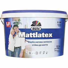 Интерьерная латексная краска матовая Dufa Mattlatex D100 (Дуфа Матлатекс) (10 л)