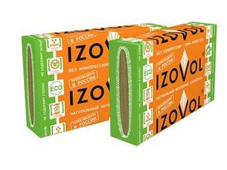 Утеплитель базальтовый 120 Izovol (Изовол) 3 (1000*600*100 мм) - 1,8 кв.м/уп