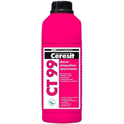 Антимикробная грунтовка CERESIT CT-99  (1 л)