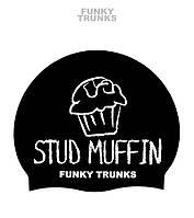 Силиконовая шапочка для плавания Funky Trunks Stud Muffin
