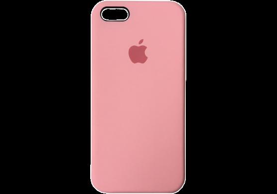 Чехол iPhone 5 / 5s / SE Silicone Case OEM ( Розовый 6 )