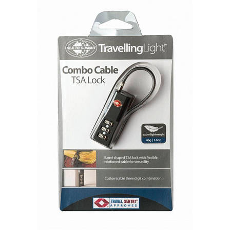 Замок для багажа Sea To Summit TSA Travel Combo Cable Lock, фото 2