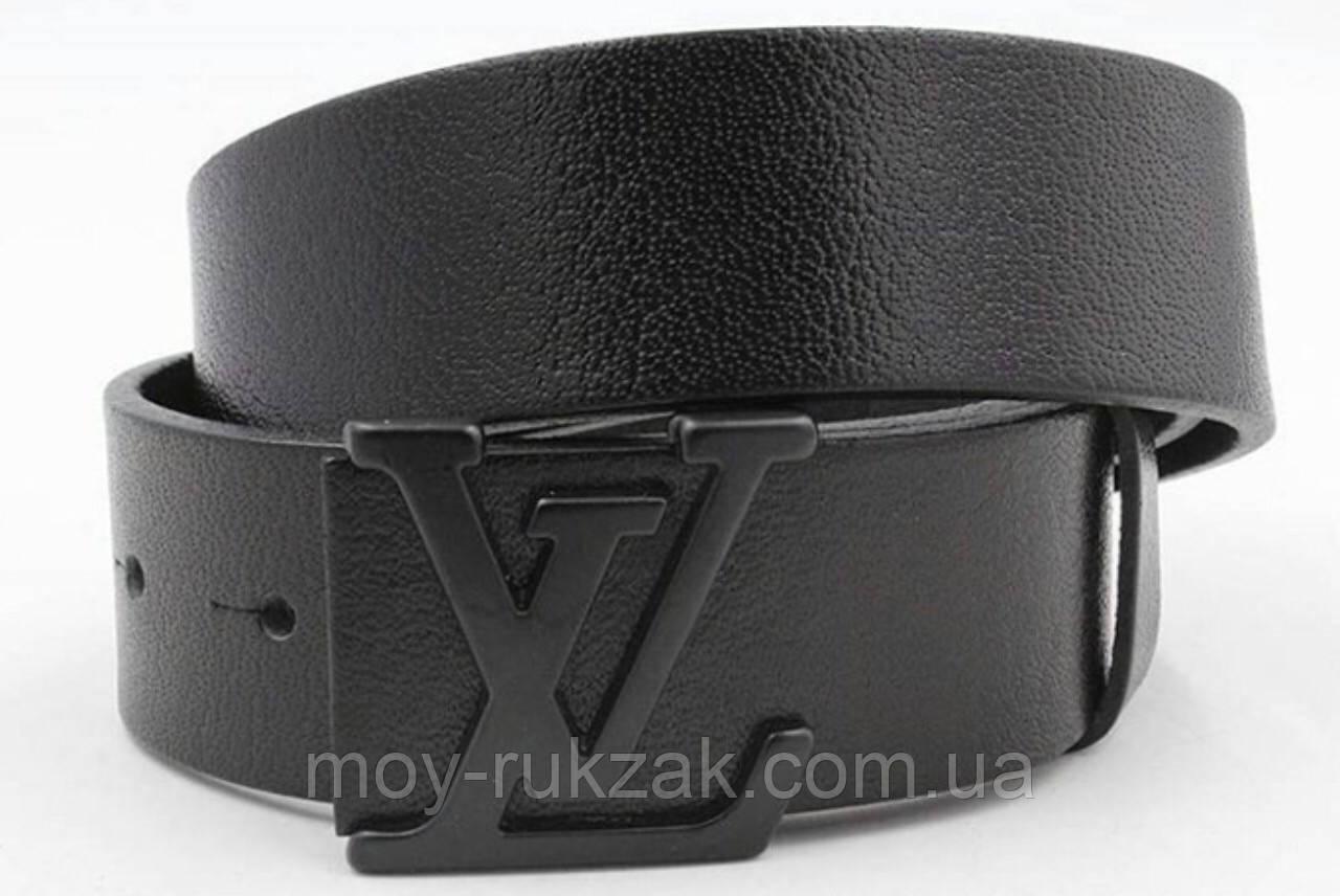 Ремень мужской кожаный Louis Vuitton ширина 40 мм. реплика арт.930829