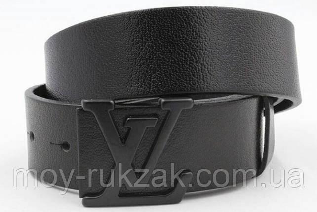 Ремень мужской кожаный Louis Vuitton ширина 40 мм. реплика арт.930829, фото 2
