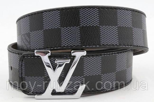 Ремень мужской кожаный Louis Vuitton ширина 40 мм. реплика арт.930834, фото 2