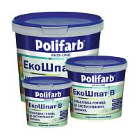Шпатлевка акриловая интерьерная Polifarb (Полифарб) (1,5 кг)