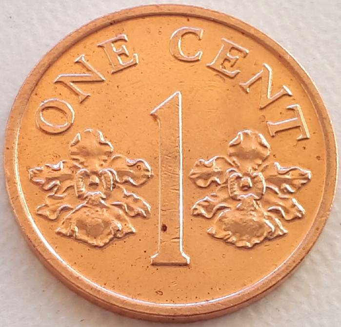 Сингапур 1 цент 1994