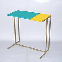 Приставний стіл серії Comfort A600 ментол-жовто-бежевий
