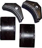 Тормозные колодки к тормозу ТКТ -100  с тормозной лентой