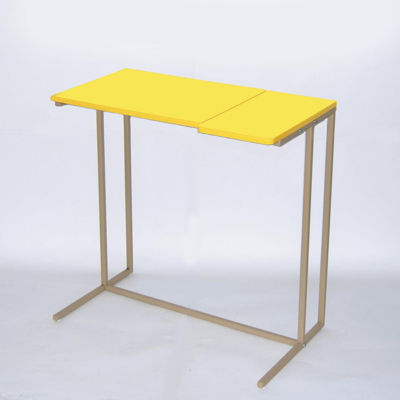 Приставний стіл серії Comfort A600 жовто-бежевий