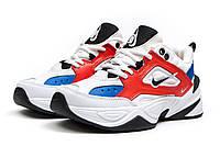 Мужские кроссовки в стиле  найк M2K Tekno white & red & Blue