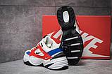 Мужские кроссовки в стиле  найк M2K Tekno white & red & Blue, фото 6
