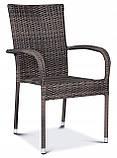 Набір меблів з штучного ротангу FIESTA / AVENUE 6 крісел + 1 стіл, фото 8