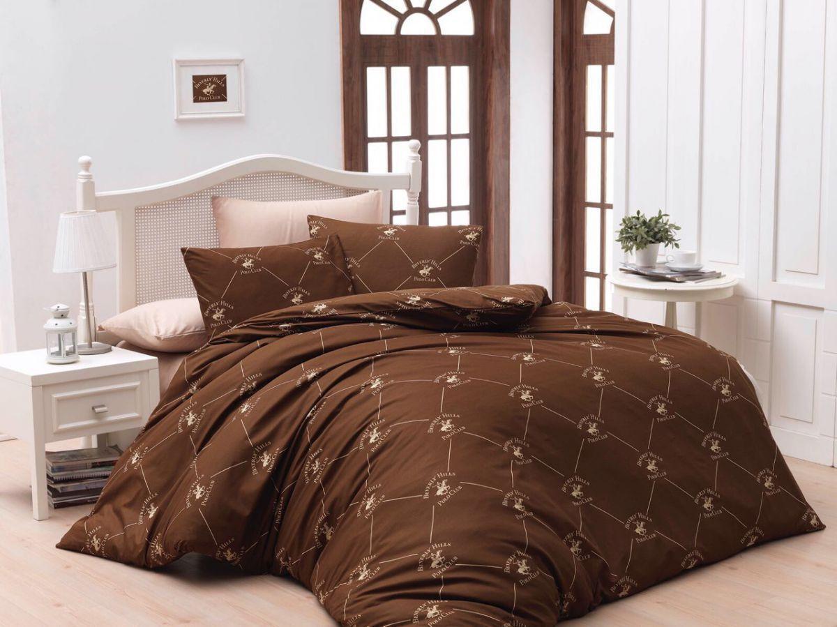 Евро-комплект постельного белья U.S. POLO CLUB Ранфорс. Турция