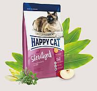 Happy Cat Supreme adult Sterilised 10 кг сухой корм для кастрированных котов и стерилизованных кошек, 70238