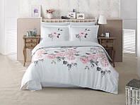 Комплект постельного белья Aran Clasy сатин евро Rosmari1