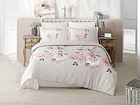 Комплект постельного белья Aran Clasy сатин евро Rosmari2