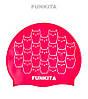 Силиконовая шапочка для плавания Funkita Kitten Kluster