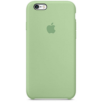 Чехол iPhone 6/6s Silicone Case OEM ( Mint Gum )