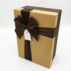 Коробка прямоугольная с бантом