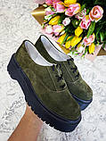 Женские туфли на платформе ТМ Bona Mente (разные цвета), фото 9