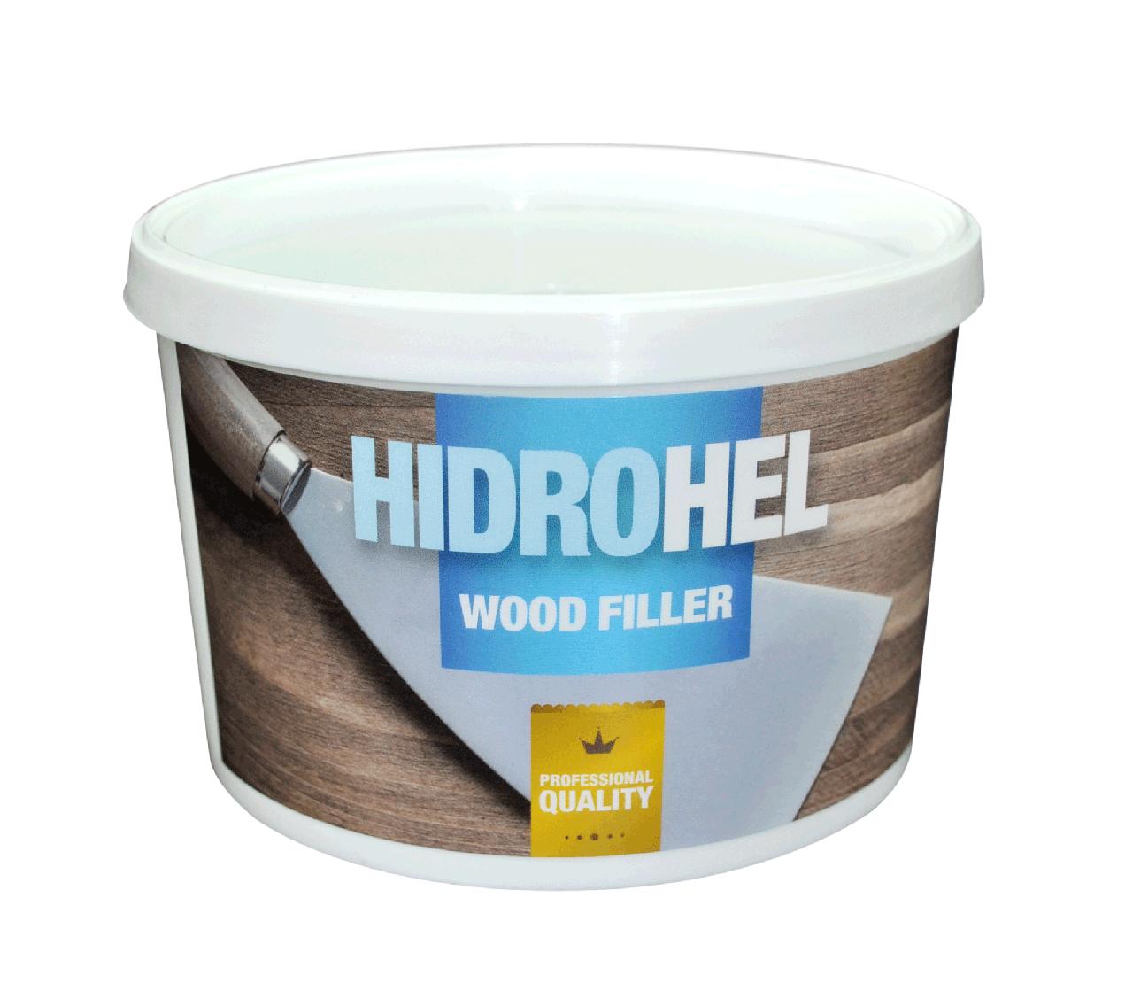 HIDROHEL Wood Filler белый 0,75 кг