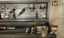 Подарочные наборы. Шампура, ножи, шахматы, чарки