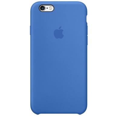Чехол iPhone 6/6s Silicone Case OEM ( Royal Blue )