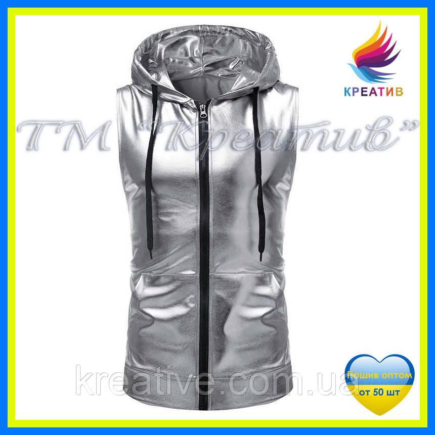 Серебряные жилеты оптом (под заказ от 50 шт.)